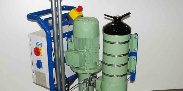 FAH-150 Inteligentny wózek do filtrowania oleju.